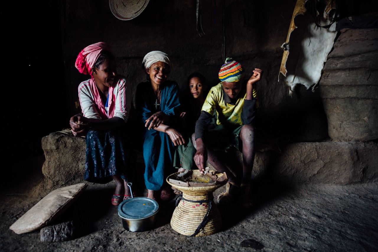 Family in Ethiopia