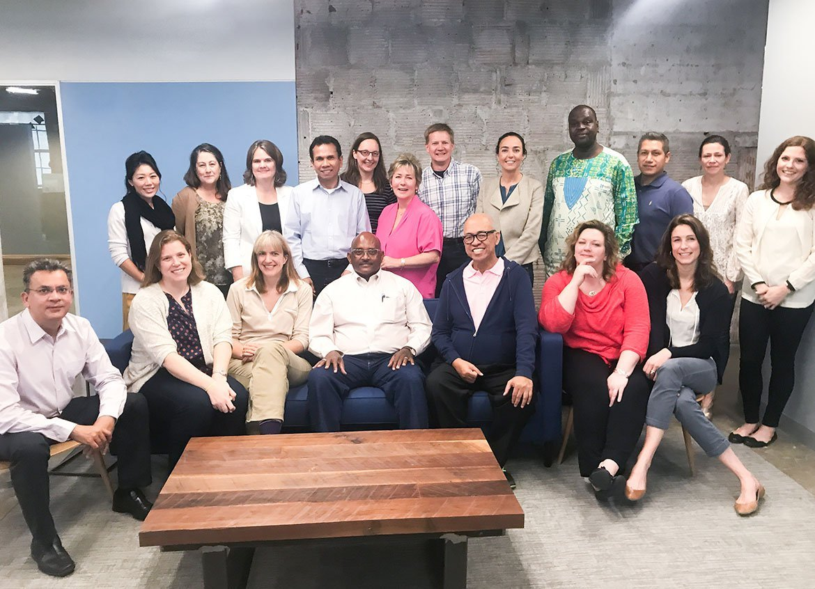 Water.org country directors and staff