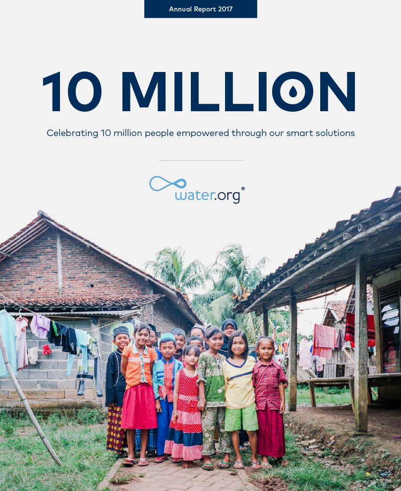 Water.org 2017 Annual Report
