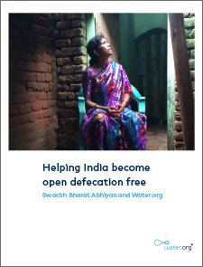 Helping India become open defecation free