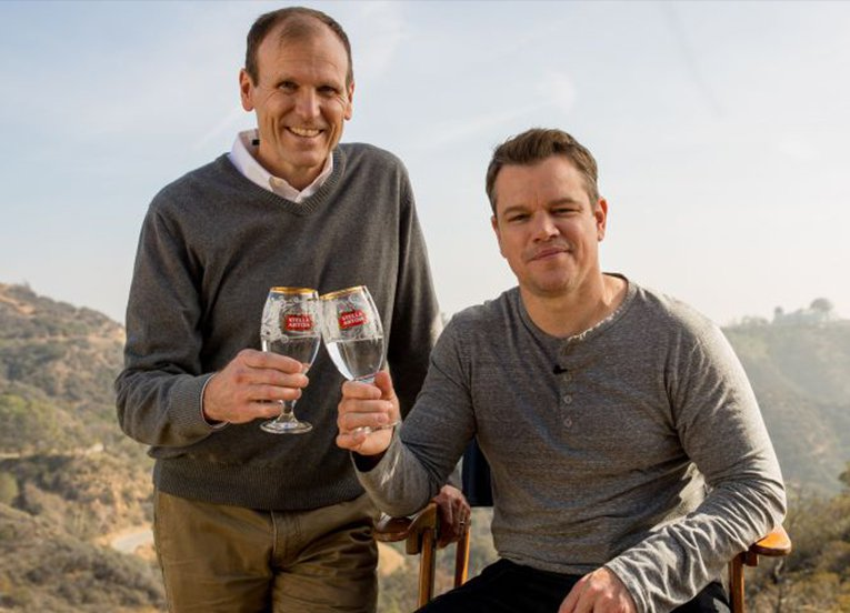 Matt Damon and Gary White