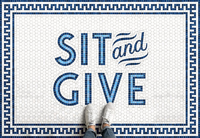 Sit and Give