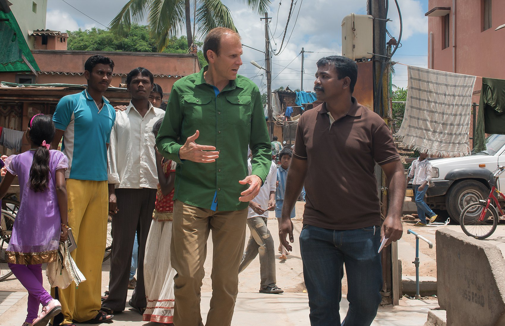 Water.org Co-founder Gary White in India